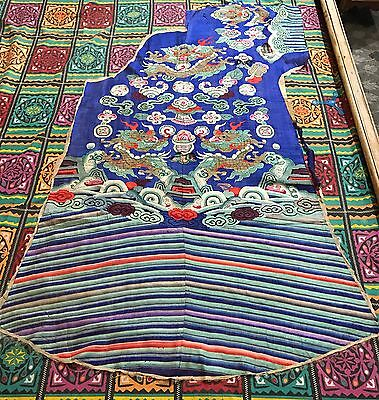 Antique Chinese Kesi Front Piece Of Robe