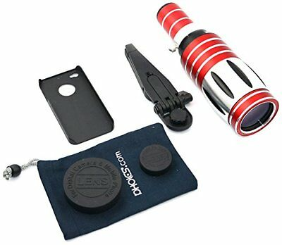 Apexel CL-48-I4 - Kit de telescopio con trípode y funda para iPhone 4/4S