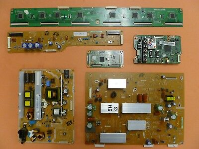 SAMSUNG PLASMA TV  COMPLETE PARTS REPAIR SET FROM PN51E450 (Version:  V1011.1)