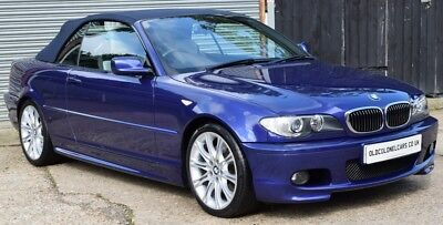 ONLY 47,000 MILES - Stunning 330 CD M Sport Individual Convertiblle - YEARS MOT