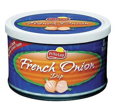 6 Pk Frito Lay French Onion Dip 8.5 Oz Ea  Individually Packaged Cans - NEW