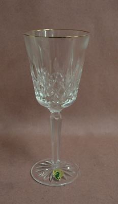 Waterford Golden Lismore Tall Goblet Crystal Glass Multipurpose 8 oz Cup