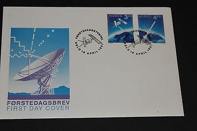 Norway 1991 Europa Day Space Set Of 2  First Day Cover Ex Cond