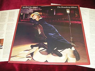 Barbra Streisand - The Broadway Album - Barely Used Uk Lp With Inner And Insert