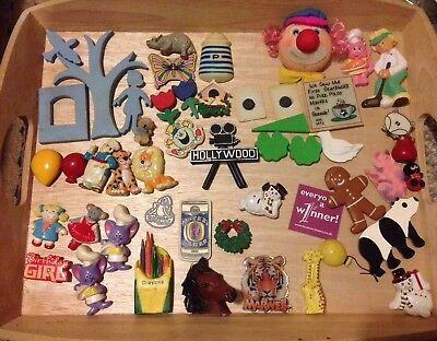 Large Collection Of Fridge Magnets