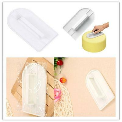 New Little Cake Company Fondant Icing Side Smoother Edging + Polishing Tool P_