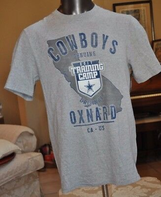 Dallas Cowboys Oxnard CA Training camp 2017 Gray T-Shirt size Small NWT  MSRP 25 f4770a814