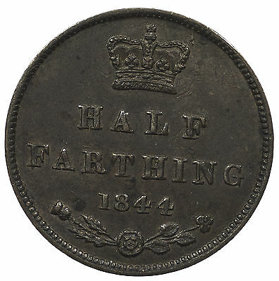 Great Britain, Victoria Half-Farthing, 1844