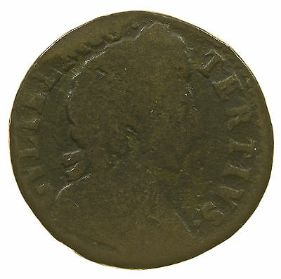 Great Britain, William Iii Farthing, Date In Legend, 1699