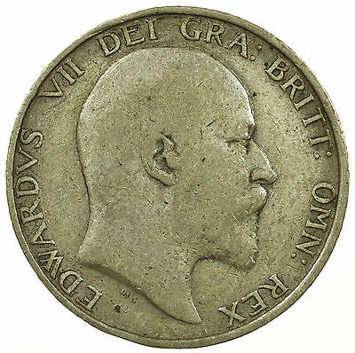 Great Britain, Edward Vii Shilling, Silver, 1904