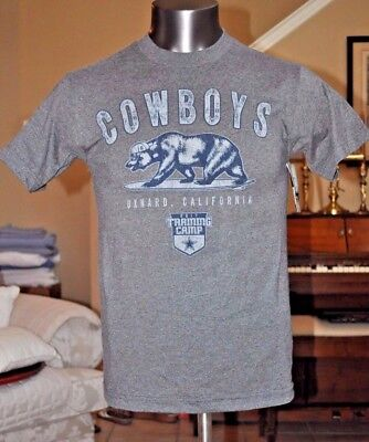Dallas Cowboys Training Camp 2017 Frisco Blue Tee Shirt Mens XL - NEW WITH  TAGS 212e46752
