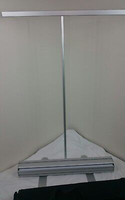 24x39 Retractable Roll Up Pop Up Banner Stand Trade Show Sign Display Qty Qty