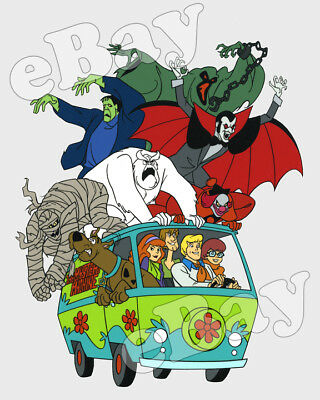 Rare! SCOOBY DOO Cartoon Color TV Photo HANNA BARBERA Studios MYSTERY MACHINE