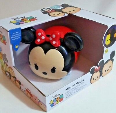 Minnie Mouse Tsum Tsum Light Up Alarm Clock Disney NEW