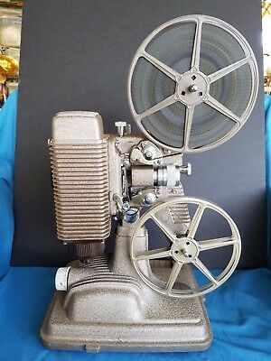 Vintage Revere 85, 8Mm Movie Projector With Two Reels, Movie And Case, Works