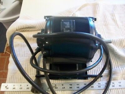 Vintage 1/3 HP Emerson Electric Motor from Lathe 1PH 1725 RPM 60 Cyc 115 Volt