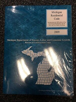 2009 Michigan Residential Code Builders One & Two Family Dwellings