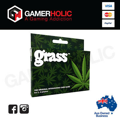 Grass card game - The original - Hangsell - SEALED - ADULT party drink game