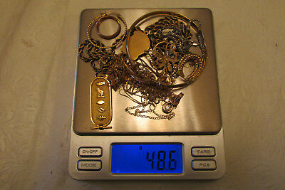 48.3 Grams 14K Gold Jewelry Wear & Scrap .99 Cents- No Reserve!!!