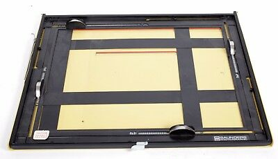 Saunders 11X14 Professional 4 blade easel (yellow) EX+