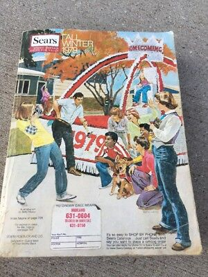 Vintage SEARS Catalog 1979 Fall and Winter Clothing Advertising Housewares Gifts