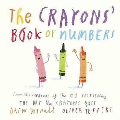 NEW The Crayons' Book of Numbers By Drew Daywalt Board Book Free Shipping