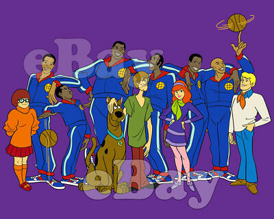 Rare! SCOOBY DOO MOVIES Cartoon Photo #18 HANNA BARBERA Studios GLOBETROTTERS