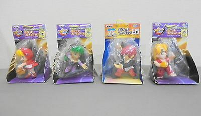 Lot of 4 CAPCOM vs SNK Pocket Figure set Morrigan Aensland Ken Iori B. B. Hood