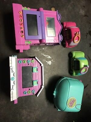 Lot of 5 Pixel Chix Games (2 Car, 2 House, Purse) Work Great With Instructions