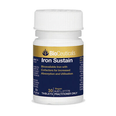 BioCeuticals Iron Sustain 30 Tablets Supplement
