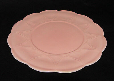 "IMMACULATE Pink Platonite ""NEWPORT/HAIRPIN"" Large PLATTER!!"