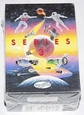 Space Shots Series 3  by Space Ventures in 1992. 110 card sealed factory set