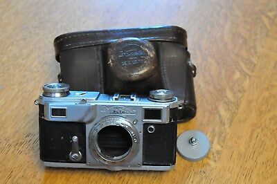 Kiev II (Russian made Zeiss Contax II copy) rangefinder camera body - USA seller