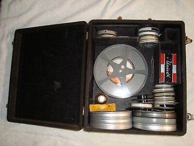 Vintage Lot of 22- 8mm Home Movie Reels with film 1940's, 50's & 60's+ 5 empty's