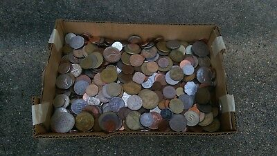 16.2 LBS  - World Coin Lot of Miscellaneous Foreign Coins