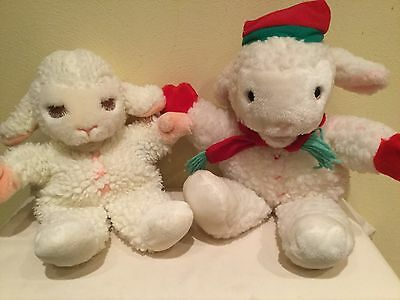 Vintage Shari Lewis Full Body Plush Lambchop Puppet And Stuffed Toy Lot