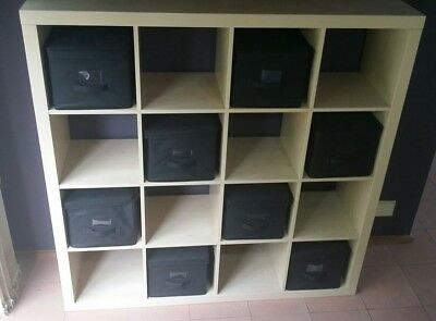 house moving sale ikea kallax shelving unit aud picclick au. Black Bedroom Furniture Sets. Home Design Ideas