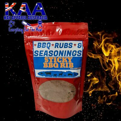 BBQ Rib Meat Glaze 250 Grams Seasoning/Sprinkle/Coating/Spice/Rub/Marinate
