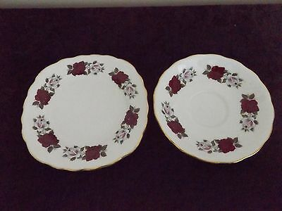 ROYAL VALE - side plate and saucer