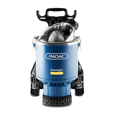 Pacvac Superpro700 Home&Commercial Backpack Vacuum Cleaner
