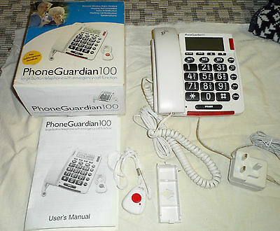 Phone Guardian 100 Large Button with Emergency call Function