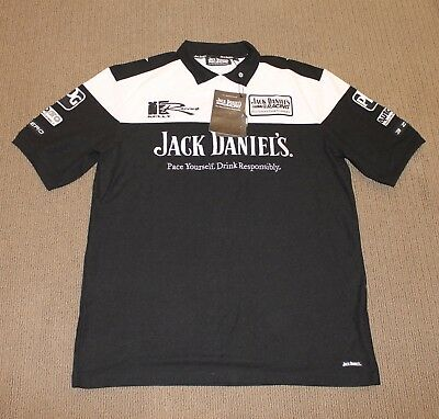 BRAND NEW WITH TAGS Jack Daniels Racing Polo Shirt Size 2XL