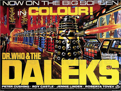 Poster / Leinwandbild DR. WHO AND THE DALEKS