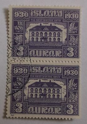 Iceland SG158 Used Pair