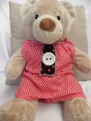 Trendy Onsie to fit pumpkin patch teddy or 15 inch build a bear