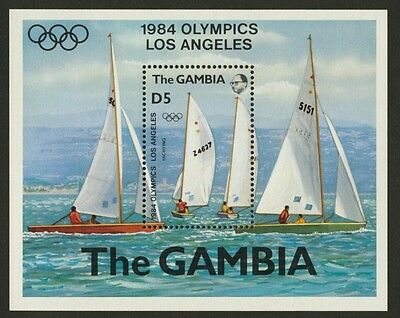 Gambia 514 MNH Olympic Sports, Yachting