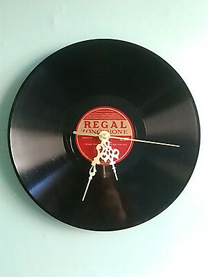 "Danny Boy - Jack Daly (10"", 78 RPM, Clock with Gold effect hands, Regal Label)"