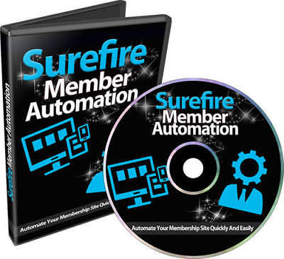 Surefire Member Automation - Setup Up A Digital Membership Site  Resell Rights