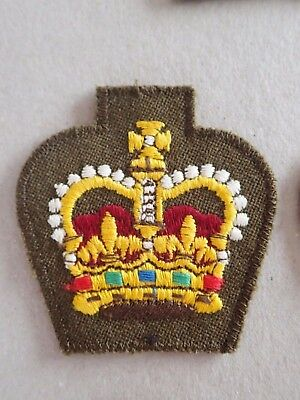 Royal Australian Armed Forces WO2 Warrant Officer Class 2 Rank Patch (Lot 473**)