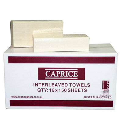 Caprice Interleaved hand towels 240mm x 240mm, 1516CU